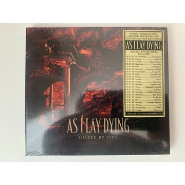 AS I LAY DYING - SHAPED BY FIRE( Nowa - Folia !!!)