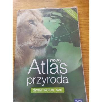 nowy Atlas przyroda ŚWIAT WOKÓŁ NAS Nowa Era
