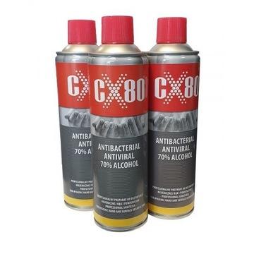 CX80 - spray antywirusowy i antybakteryjny 500ml