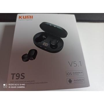 Nowe słuchawki bezprzewodowe T9S TWS