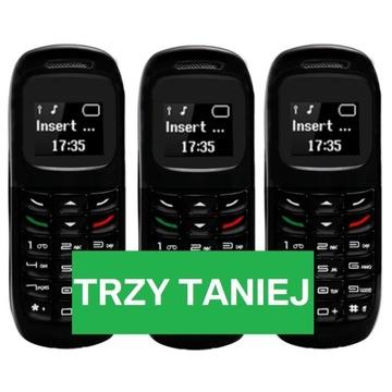 3x NOWY MINI TELEFON - L8STAR BM70 - SŁUCHAWKA BT