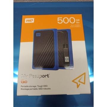 WD My Passport Go 500 GB SSD NOWY