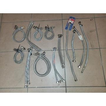 Hydraulika - węże podłączeniowe i połączeniowe.