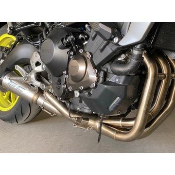 Yamaha MT 09 sportowy kompletny układ wydechowy