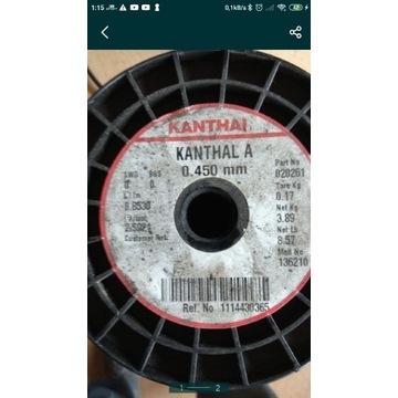 Drut oporowy Kanthal 0,45 mm