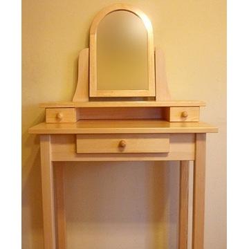Toaletka mała z drewna