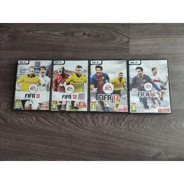 Zestaw FIFA 11 12 13 14 BOX