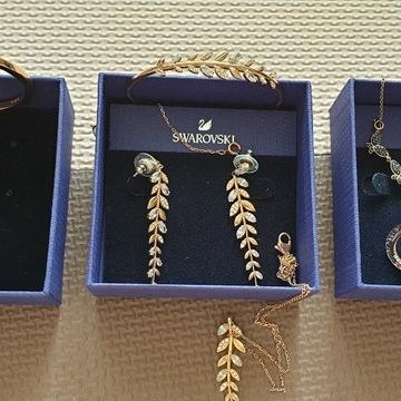 Swarovsky, 3 zestawy luksusowe plus bonus.