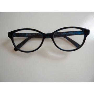 Śliczne okulary korekcyjne szkła +2