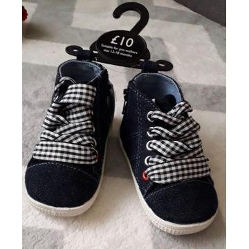 Nowe buciki dziecięce Next. Na 12-18 mcy