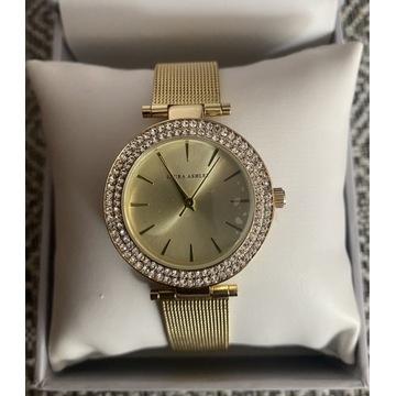 LAURA ASHLEY piękny złoty damski zegarek NOWY !