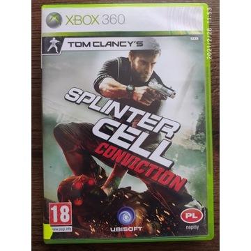 Tom Clancy's Splinter Conviction PL Xbox360 X360