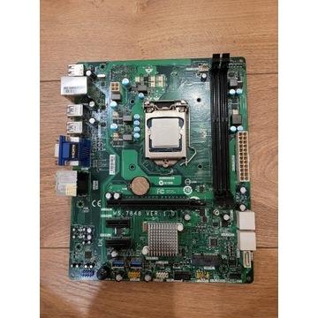 Płyta MS7848 z procesorem i3 4130