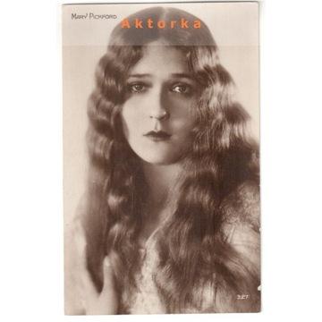 Mary Pickford - gwiazda filmu niemego
