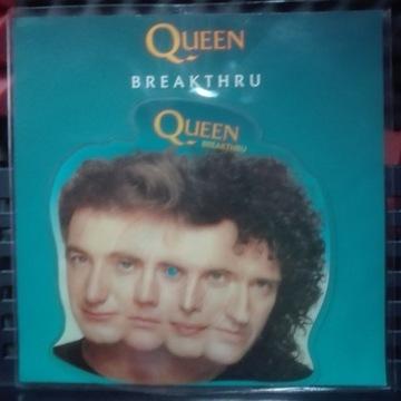 Queen Breakthru picture disc Singiel sp winyl