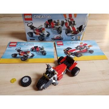 LEGO Creator 5763 Samochód terenowy quad 3w1