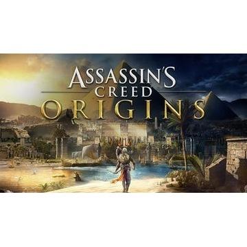 Assassin's Creed Origins + 3x inne części Assassin