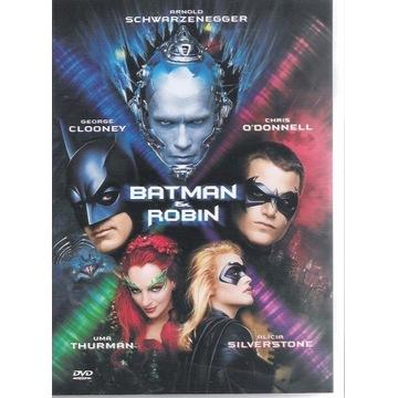 x BATMAN I ROBIN Clooney, Schwarzenegger PL