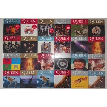 Kolekcja QUEEN Gazety Wyborczej FOLIA !! 24 Albumy