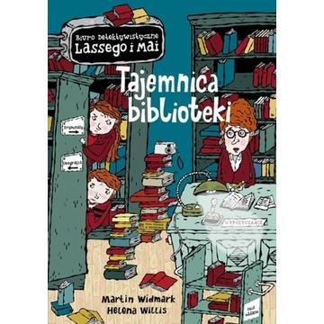 "Martin Widmark,Helena Willis""Tajemnica biblioteki"""