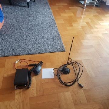 Zestaw CB: CB Radio + Antena