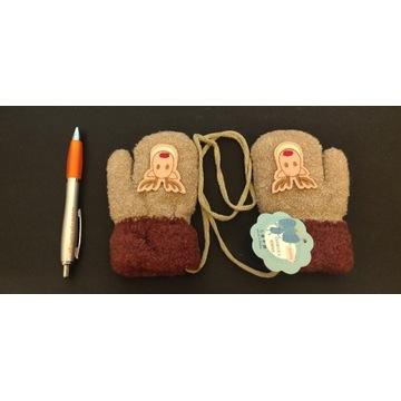 Rękawiczki z jednym palcem dla dziecka jelonki