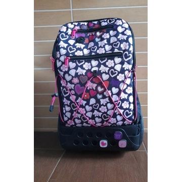 Plecak na kółkach, walizeczka z uchwytem