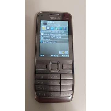 Nokia E52 srebrna