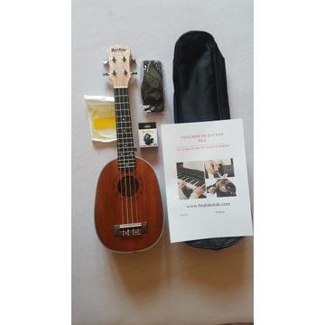 Ukulele sopranowe Heartland 3 w 1 firmy Muzikkon