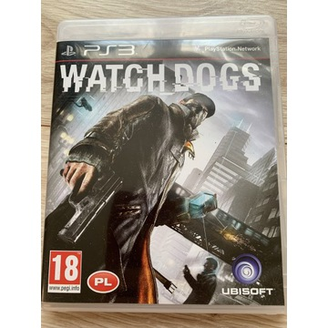 Gra na playstation 3 ps3 Watch Dogs po polsku