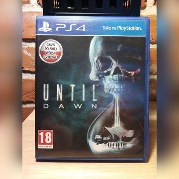Until Dawn PL na PS4
