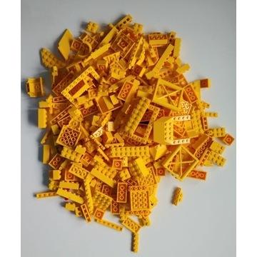 Klocki LEGO Żółte mix 500g