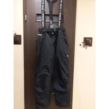 Spodnie snowboardowe Berkner BAD, stan jak nowe