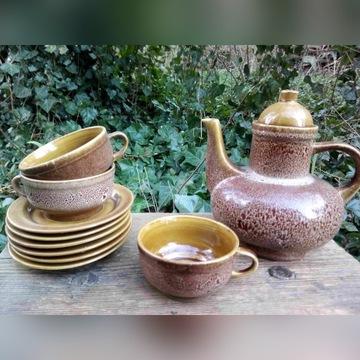 Serwis do kawy PRL - Nefryt, Mirostowice - na 6 os