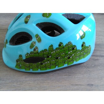kask rowerowy ABUS Smiley Croco rozmiar 50-55cm