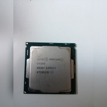Procesor Intel Pentium G4560 używany