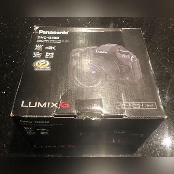 Panasonic Lumix DMC-G80M Body + 12-60mm nowy