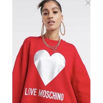 Bluza MOSCHINO XL czerwona