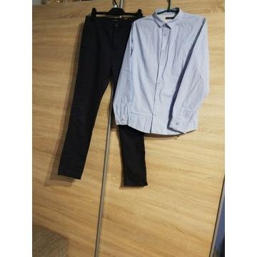 Reserved spodnie i koszula 170cm