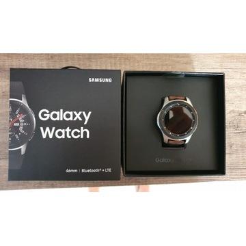 Samsung Galaxy Watch +LTE eSIM 46mm srebrny
