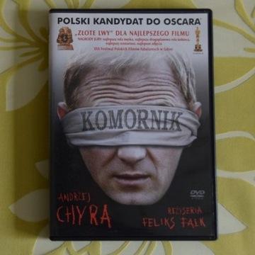 """DVD """"Komornik"""", Andrzej Chyra, Feliks Falk"""