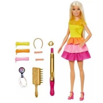 Barbie Lalka Stylowe Loki Zestaw GBK24