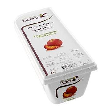 15981 - Puree z krwawych brzoskwiń, mrożone, 1 kg