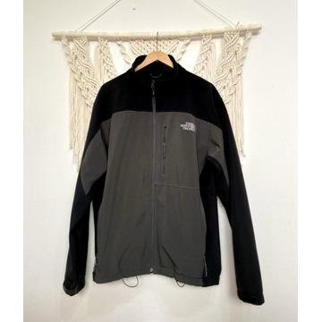 The North Face XL 42 kurtka czarna szara Softshell