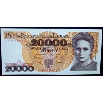 20000 zł - 1989 - AM - st.1 UNC