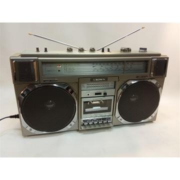 Crown CSC-950L - japoński boombox ghettoblaster