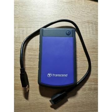 Zewnętrzny dysk twardy HDD Transcend Storejet 1TB