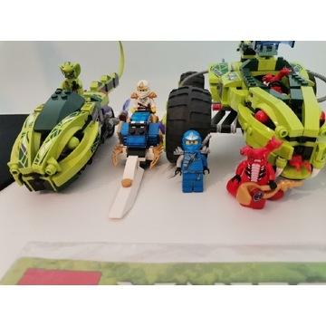 Lego ninjago 9445 +9447