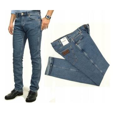 Wrangler Greensboro Midstone spodnie jeans W40 L32