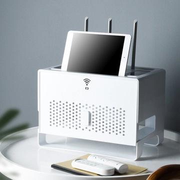 Szafka pudełko organizer stojak na router modem